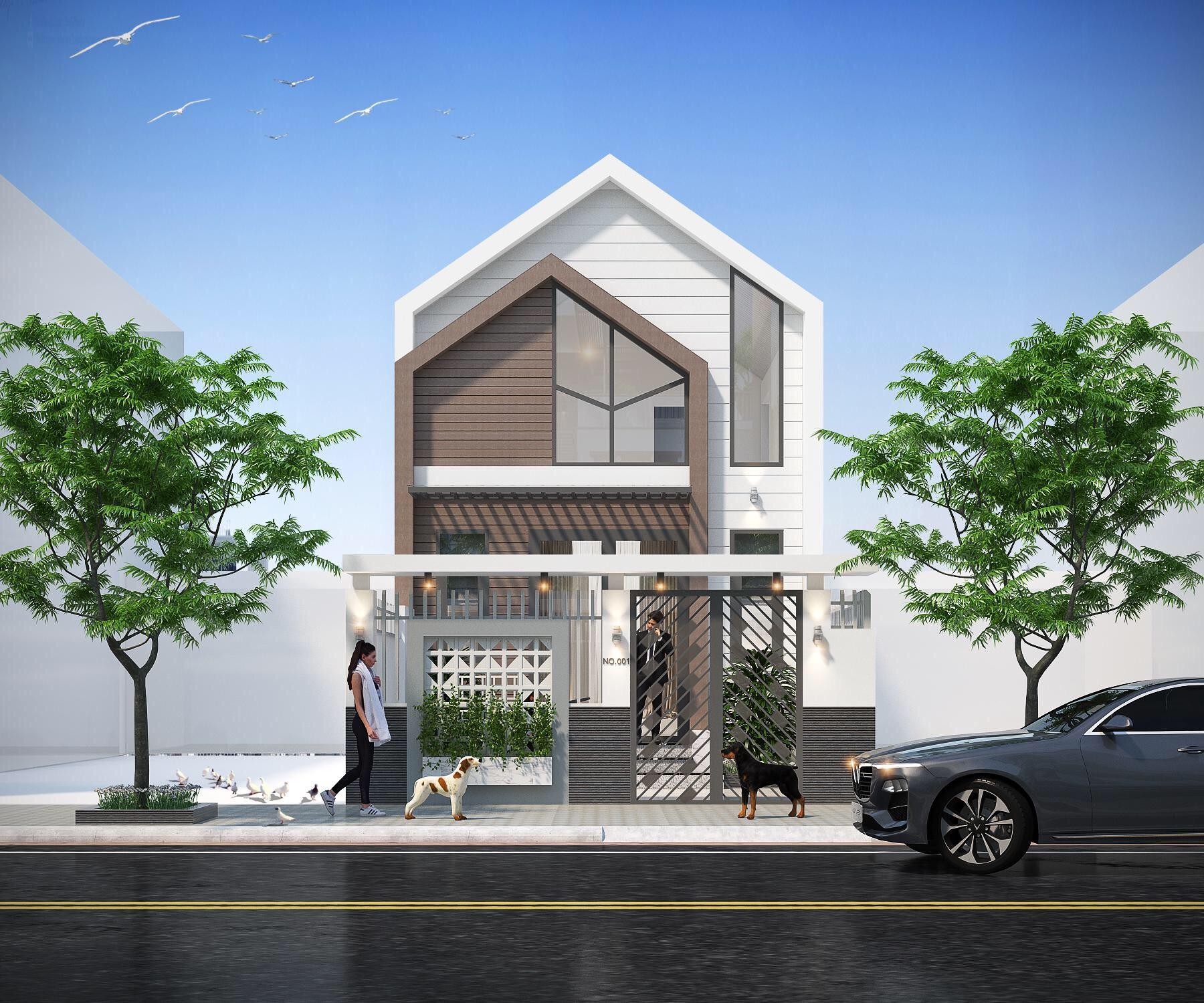 Thiết kế lô phố hiện đại Đà nẵng 6
